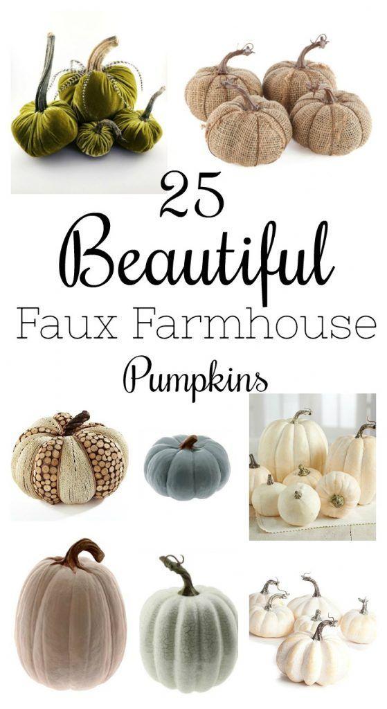 Fall Decor | Cheap Fall Decor | Fake Pumpkins | Farmhouse Pumpkins | Faux Pumpkins
