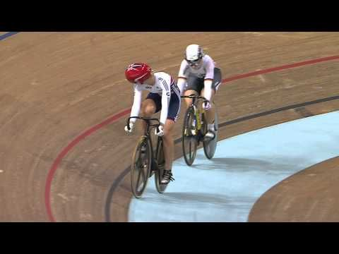 Kristina VOGEL - Rebecca JAMES - Women's Sprint Final - 2013 UCI World Track Championships, Minsk - YouTube