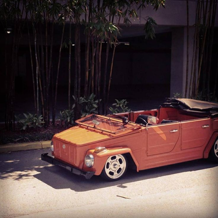 VW Thing Orange