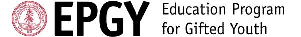 EPGY (Educational Program for Gifted Youth) - Mathematics & Language Arts and Writing