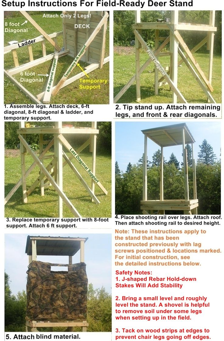 17 best ideas about deer stands on pinterest deer for Free tree stand