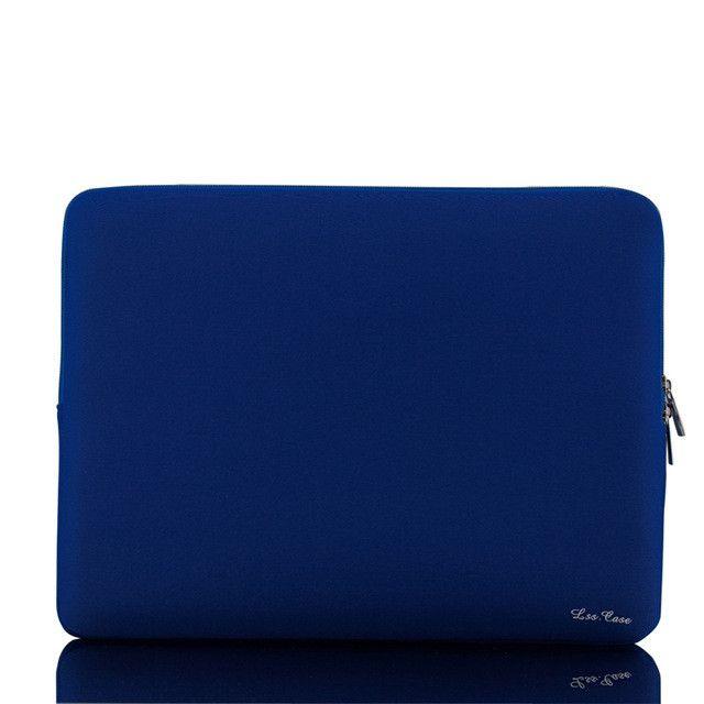 """LSS Portable Zipper Soft Sleeve Laptop Bag Laptop Case for MacBook Pro Retina Ultrabook Notebook 15"""" 15.6"""" 15 inch Light Weight"""
