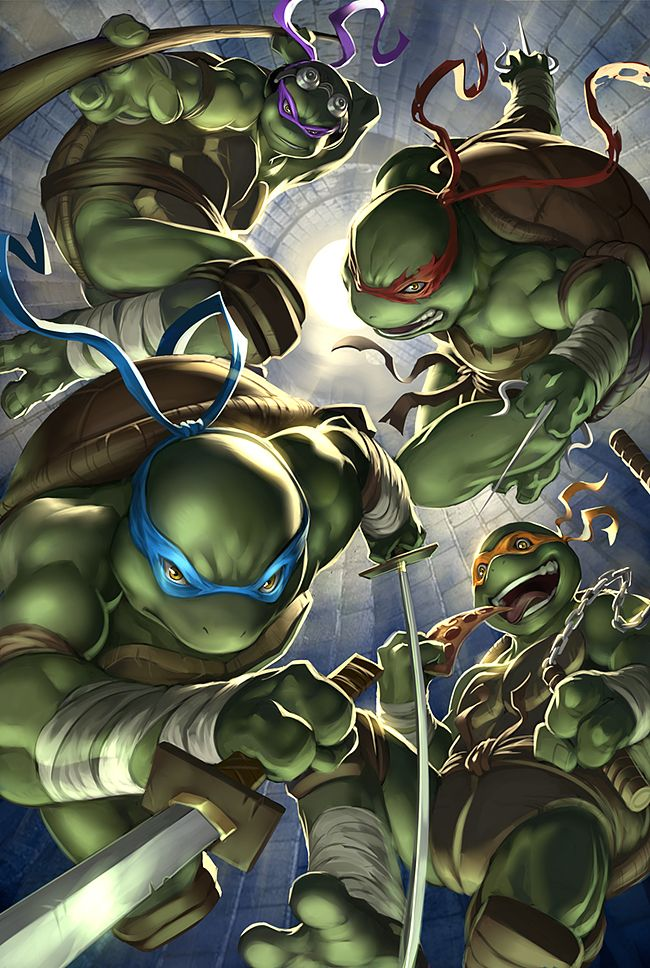 deviantART Picks 10/02/2014 Thursday Edition #TMNT #IDW | Images Unplugged