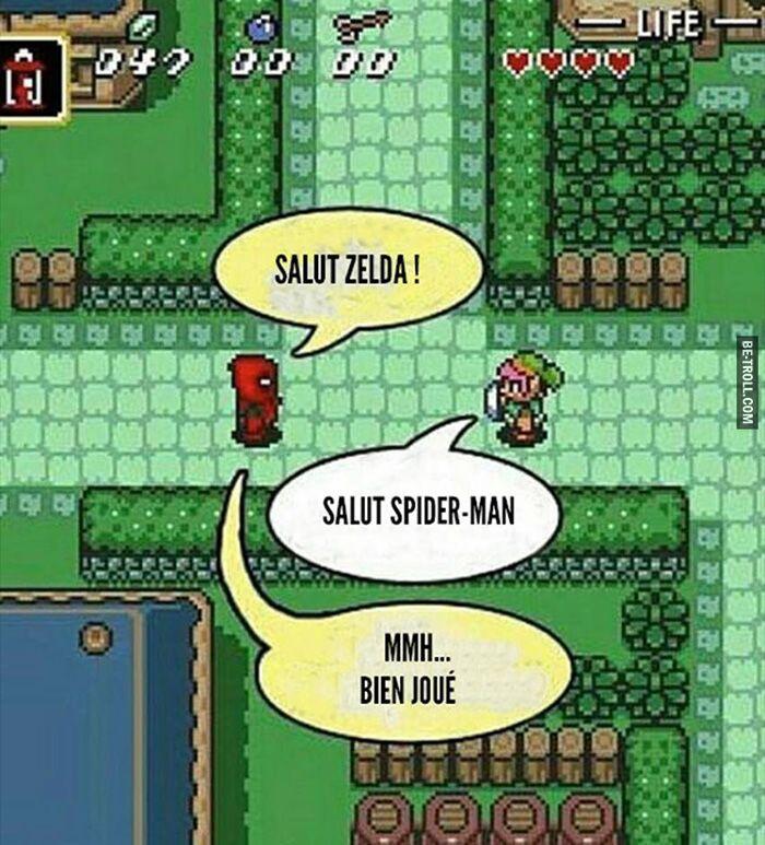 Salut Zelda !