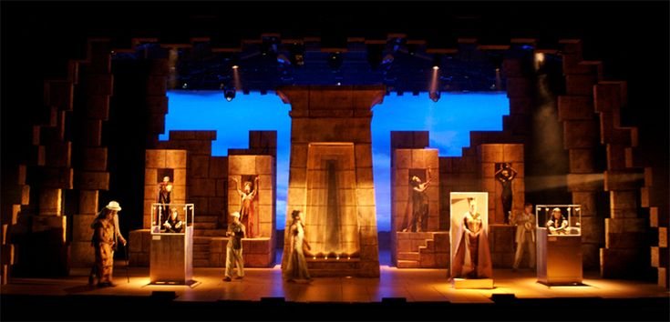 Aida. Musical Sommer - Amstetten, Austria. Scenic design by Court Watson. 2008