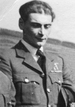 Major (Squadron Leader) Bolesław Drobiński (23 October 1918 - 26 July 1995). Victories: 7 confirmed - 1 & 1/3 probable - 0 damaged. Awards: Krzyż Srebrny Orderu Virtuti Militari (The Silver Cross of Virtuti Militari), Krzyż Walecznych 3-krotnie (Cross of Valour and 2 bars), Distinguished Flying Cross.
