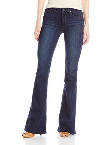 New Trending Denim: PAIGE Womens High Rise Bell Canyon Jean, Cameron, 29. PAIGE Women's High Rise Bell Canyon Jean, Cameron, 29  Special Offer: $189.00  222 Reviews Sexy meets retro in this flare jean featuring 10 inch high rise. A flattering silhouette that's slim through the thighs, then flares right below knees. This pair comes in a dark wash...