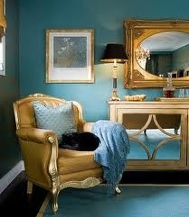 Good I Donu0027t Like This Bedroom, But I Like The Idea Of Teal And