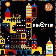 Djeco Zabawka Konstrukcyjna Kinoptik Miasto (Dj05610) - zdjęcie 1