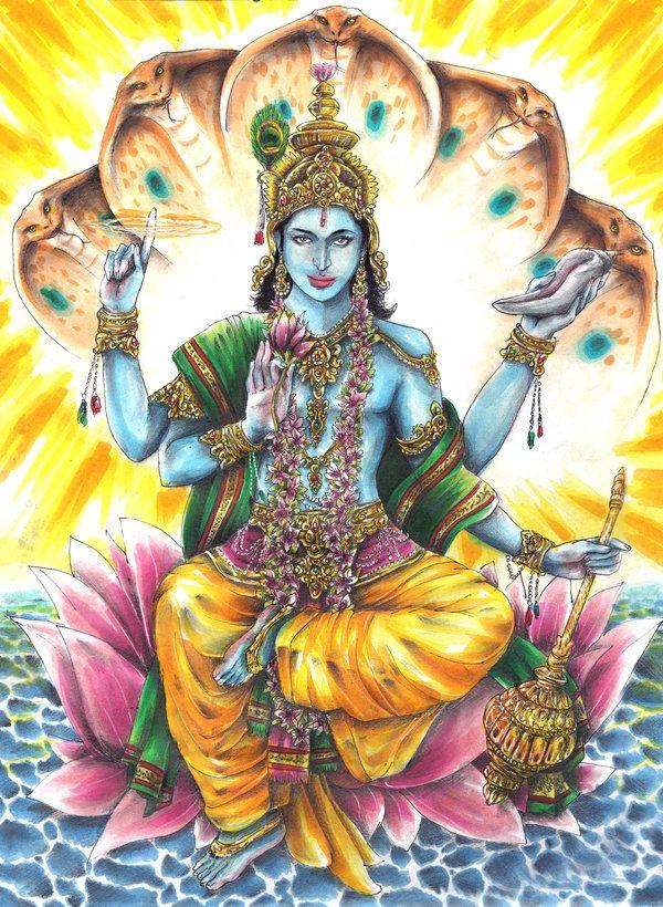 Hindu Gods And Goddesses Vishnu