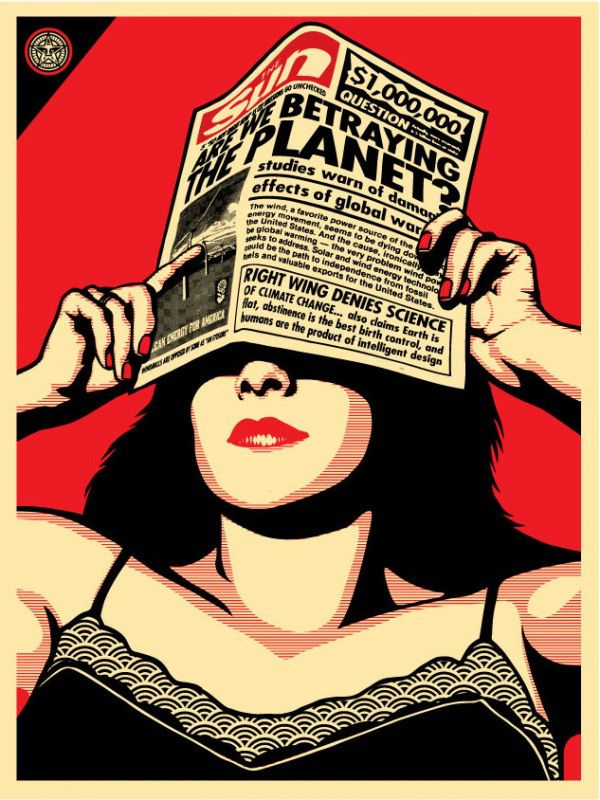 """OBEY """"Are we betraying the planet? Galería virtual"""