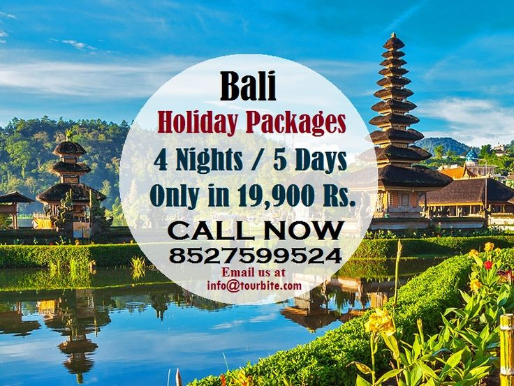 Explore amazing Bali (4N/5D) Packages to discover stunning beaches and famous nightlife at extremely reasonable rate that you won't ignore.