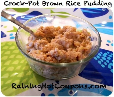 Brown rice puddings, Rice pudding recipes and Pudding recipe on ...