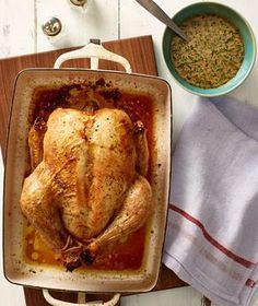 Roast Chicken With Herbed Cream Sauce