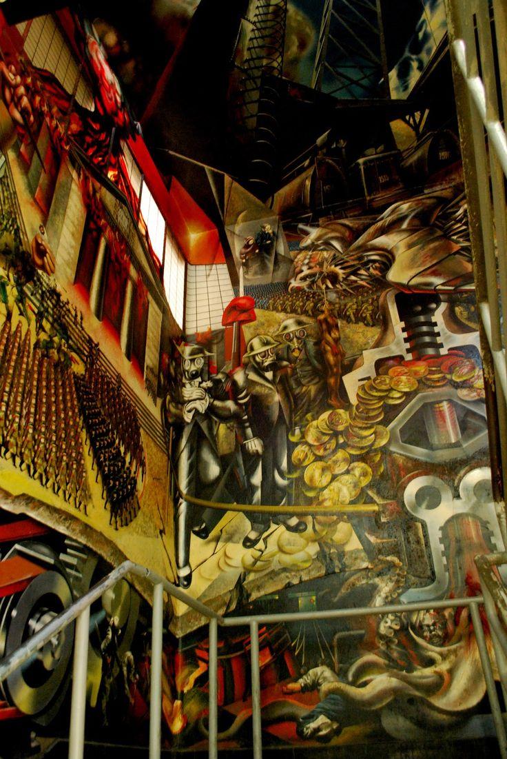 121 best muralismo latinoamericano y del mundo images on for Mural mexicano