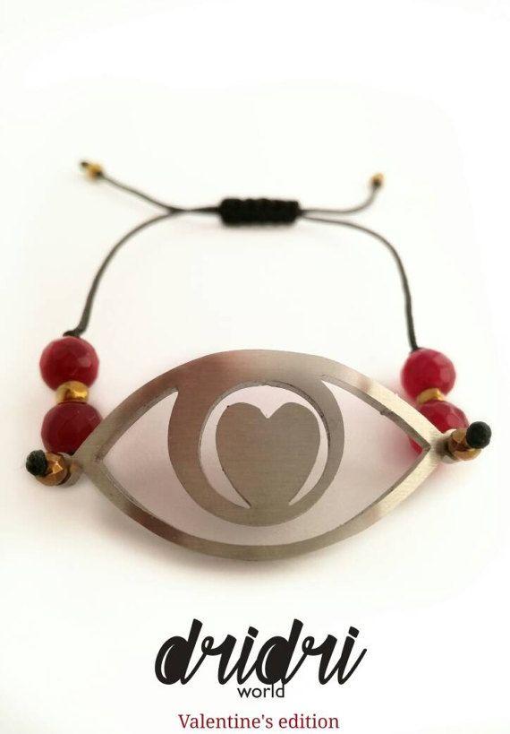 Eternal love charm bracelet by Dridriworldjewls on Etsy