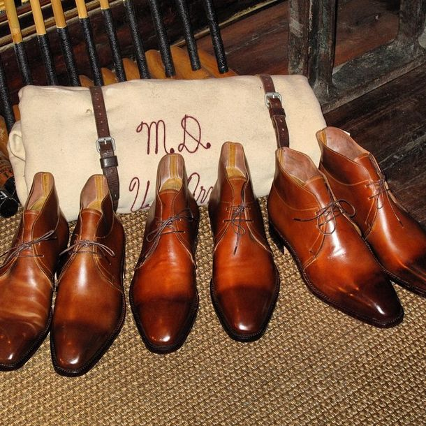 Fagliano manufacturing handmade boots and leather shoes since 1892. Today with Etiqueta Negra.