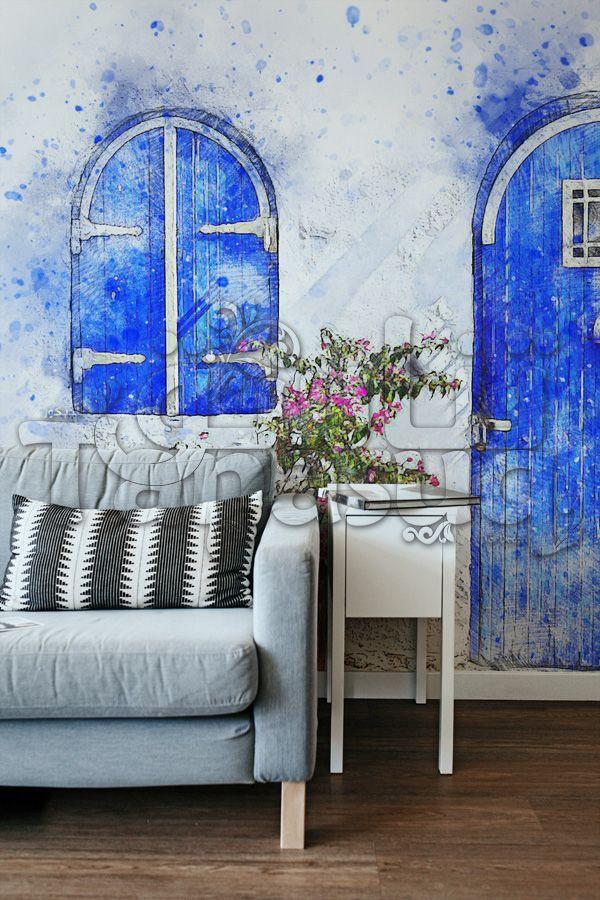ورق حائط رسم جدار مودرن Tanasuq Art