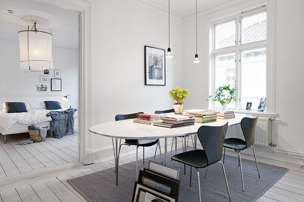 Cozy Scandinavian Apartment Showcasing Inspiring Details - http://freshome.com/2011/12/22/cozy-scandinavian-apartment-showcasing-inspiring-details/