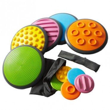 Tactodiscs - Set I | Snoezelen® Multi Sensory Rooms and Sensory Equipment | Rompa