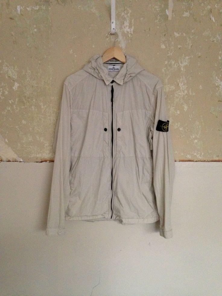 stone island hooded over shirt/jacket ART.581510220