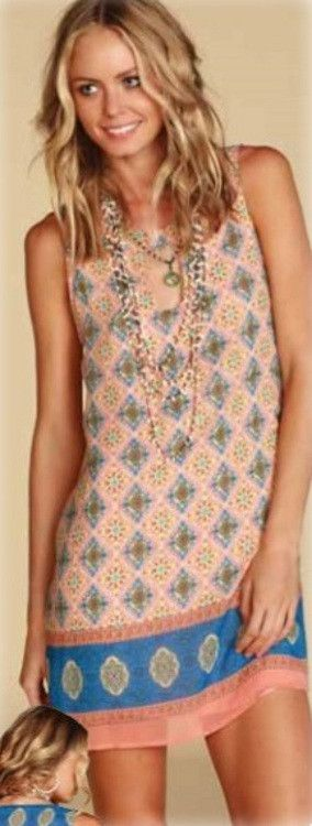 Stylish unique spring and summer dress – www.SayMoreBoutique.com