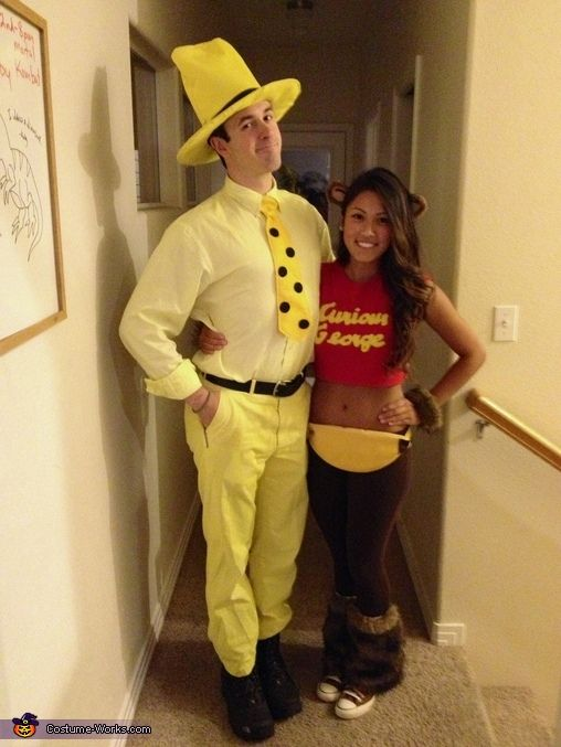 Curious George And The Man In The Yellow Hat Halloween Costume