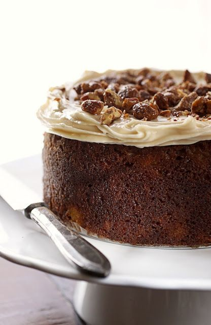 Absolutely delicious and totally South African - An Amarula Carrot Cake - ideal for Christmas and Easter ^_^