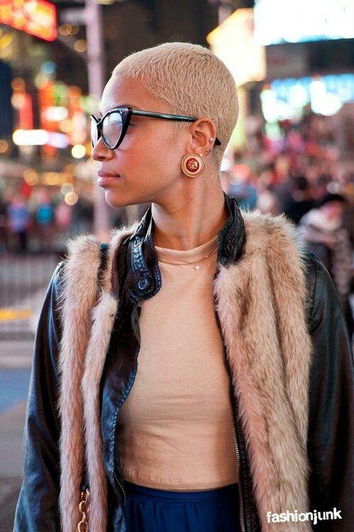 Astounding 1000 Images About Black Girls Blonde Hair On Pinterest Her Hair Short Hairstyles For Black Women Fulllsitofus