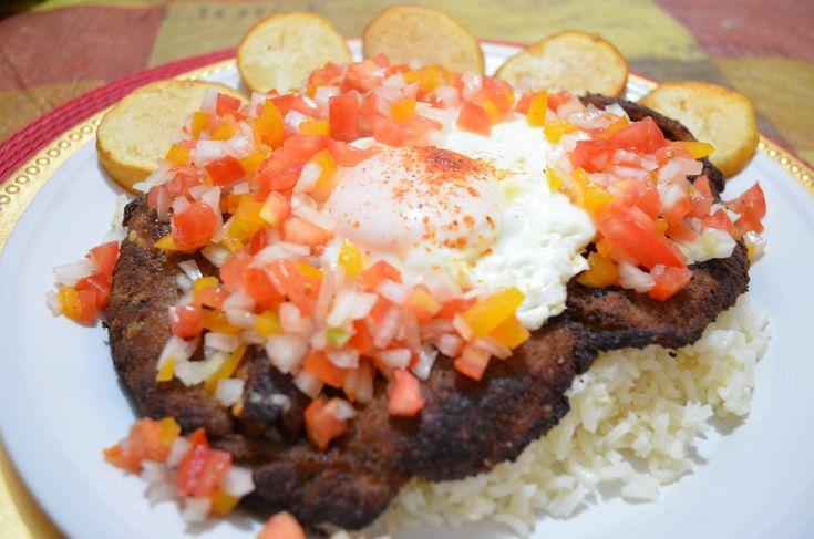 CHUCHEMAN  como hacer silpancho (platillo boliviano) -Recetas de cocina