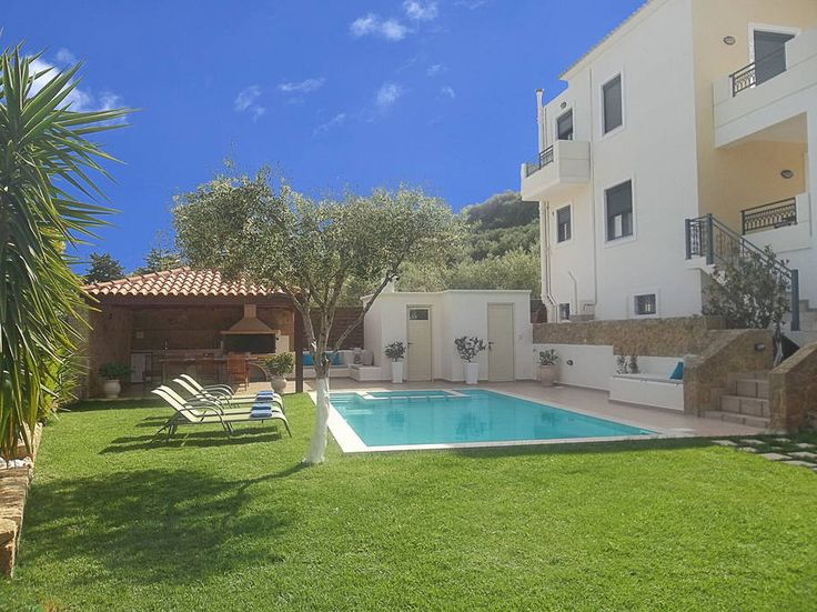 Check out this awesome listing on Airbnb: Villa Georgia,full privacy,Pool&Spa - Villas for Rent in Afrata