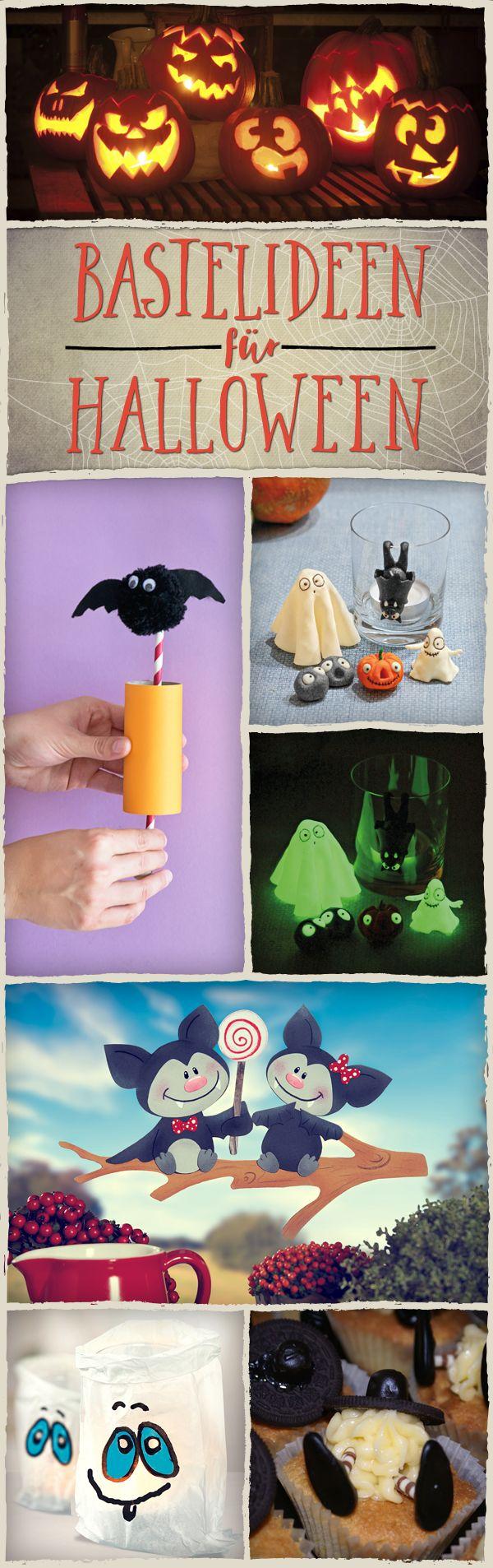 199 best ✂ Basteln für Halloween images on Pinterest