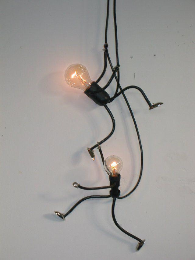 Lamp Lampje, uniek en sfeervol handgemaakt design - Foto's KlimLampStel
