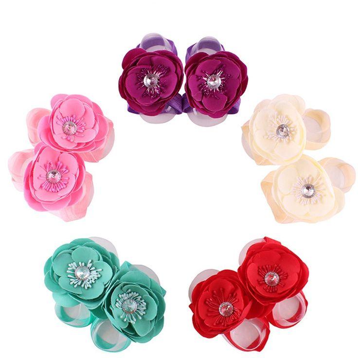 5pcs bambino neonato scarpe sandali a piedi nudi fiore babbucce per 0 - 4 anni i bambini vecchi assortiti Color: Amazon.it: Salute e cura della persona