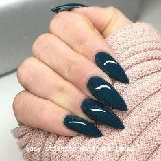 30 große Stiletto Nail Art Design-Ideen # Stilettonails – Stylish Stiletto Nails