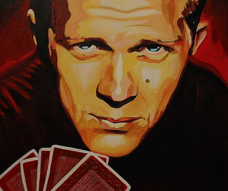 King Of Hearts art by Stacey Wells