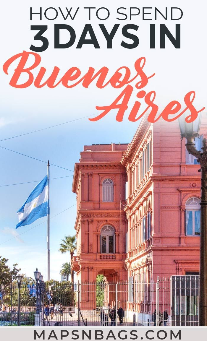 3 Days In Buenos Aires Itinerary For First Timers South America Travel South America Travel Destinations South America Travel Itinerary
