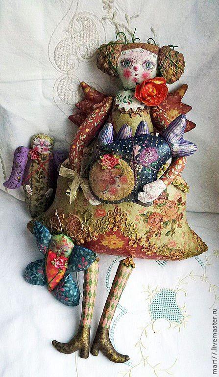 Olga Mart folk dolls