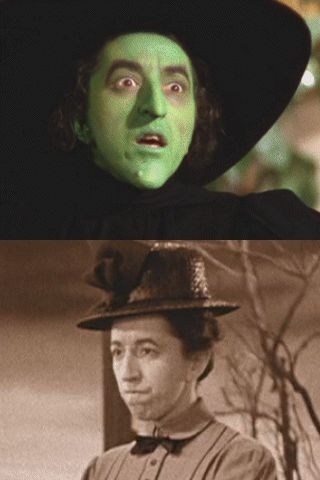The Wizard of Oz ~ Margaret Hamilton as The Wicked Witch of the West