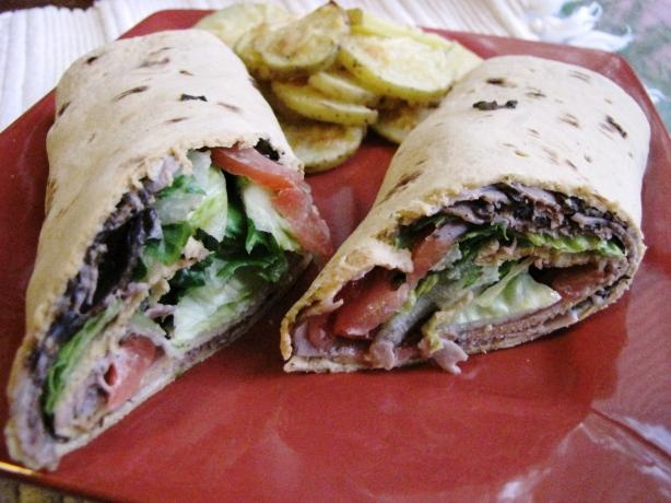 Weight Watcher BLT Wraps - 3 Points.