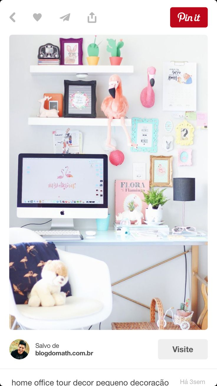make workspaces fun and creative by adding cute accessories around your desk quirky u0026 bright home office decor