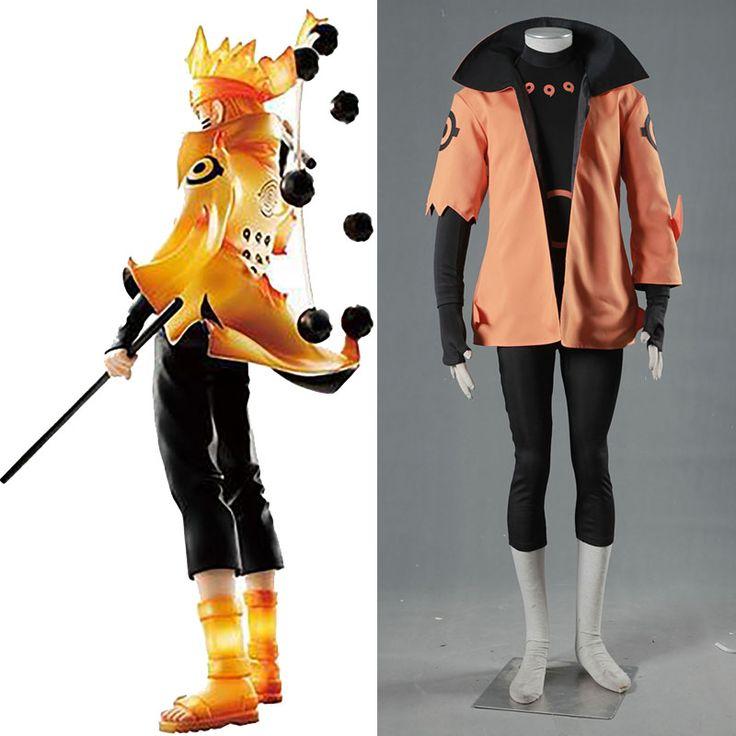 >> Click to Buy << Anime Uzumaki Naruto Rikudou Sennin Modo Cosplay Costume Sage of the Six Paths Naruto Cosplay Outfit  Men Halloween Costume Sets #Affiliate