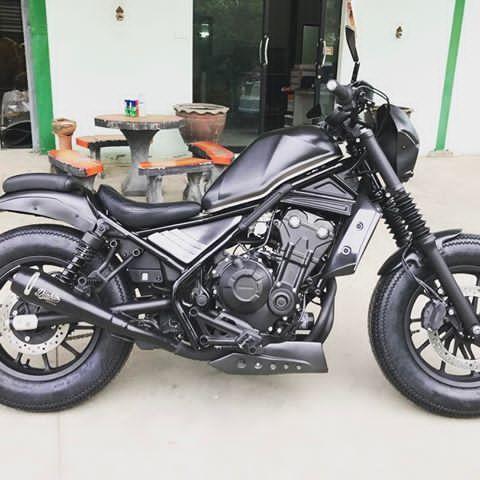 """MotozAAA Custom sets """" Rebel500/300 """"#motozAAA #custom#honda#rebel500 #rebel500custom #rebel #rebel300 #hypergray #flatgray"""