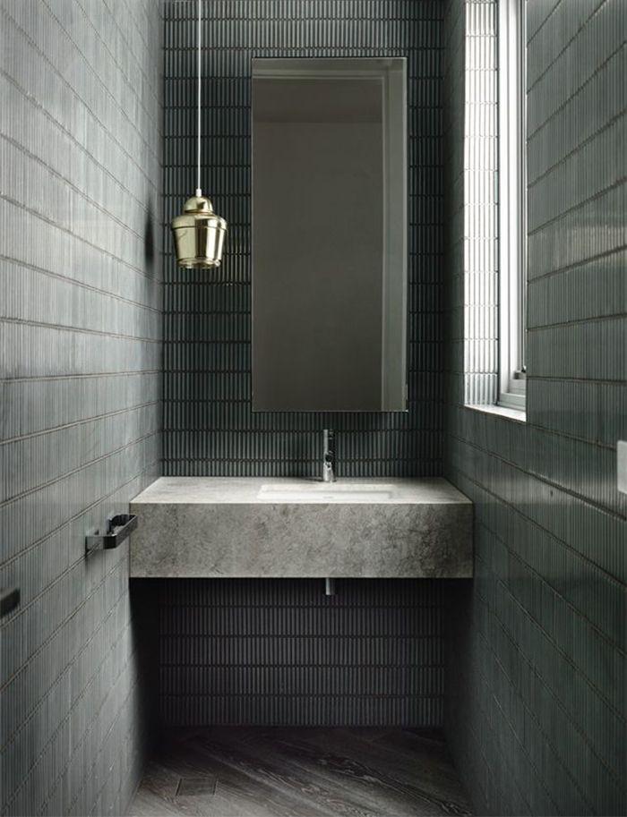 Distinctive Wall Coverings Styles To Steal Concrete Bathroom Bathroom Bathroom Interior