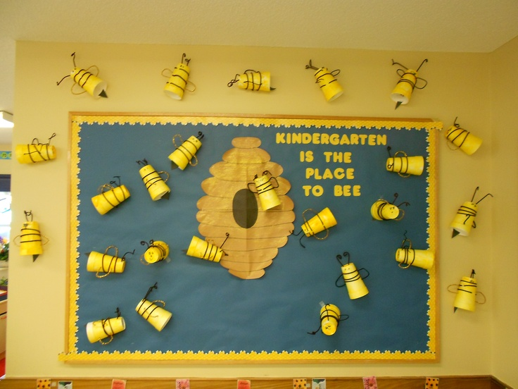Classroom Theme Ideas Bees ~ Insects science animals kindergarten is the place to bee