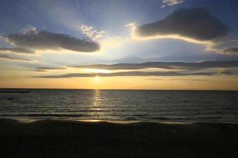 The Issiki beach:  Coast, Issiki Beaches,  Seacoast,  Sea-Coast