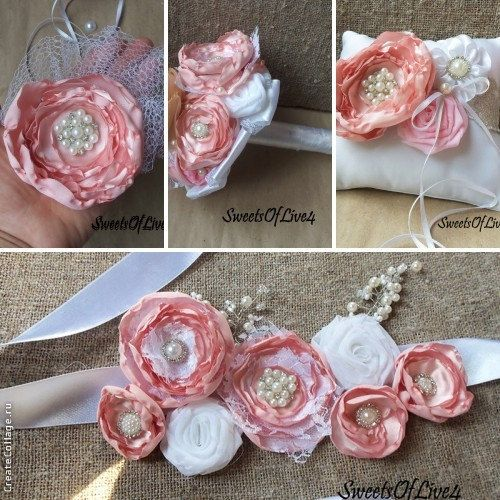 Букет для невесты дублер в Нежный розовый по SweetsOfLife4