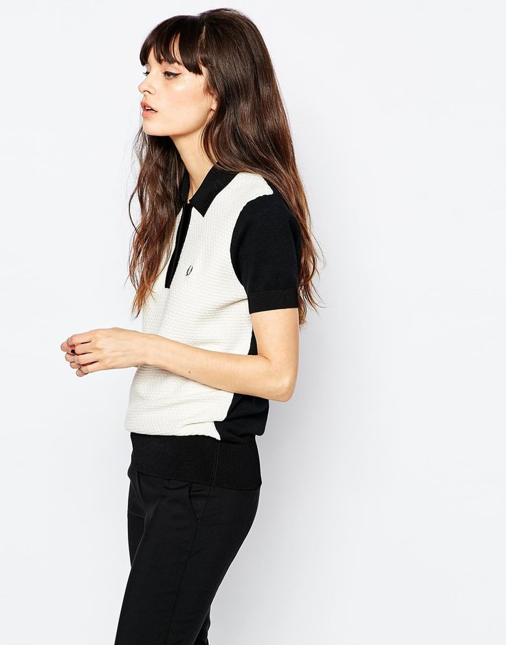 Fred Perry | Fred Perry Knit Polo Shirt at ASOS
