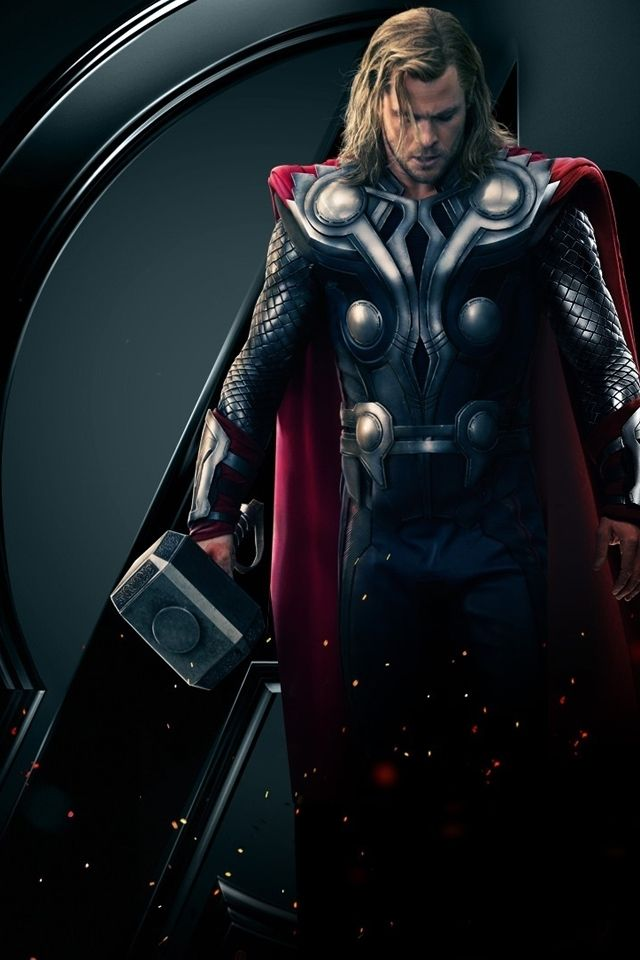 marvel thor iphone wallpaper fan art wallpapers