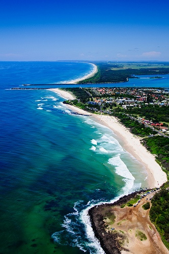 Lennox Head, Australia  Outdoors, beautiful beach, cool cafés, perfect holiday relaxation spot